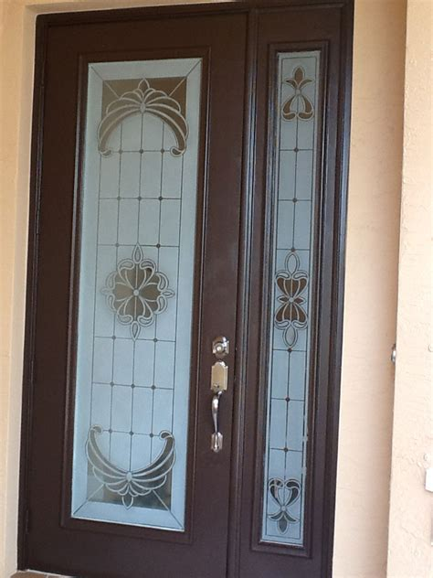 Etched Glass Doors by Etched Glass For Home Business Boat