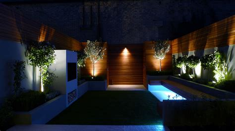 Modern Patio Lighting Garden Lighting Fulham Chelsea Clapham Battersea Balham Dulwich