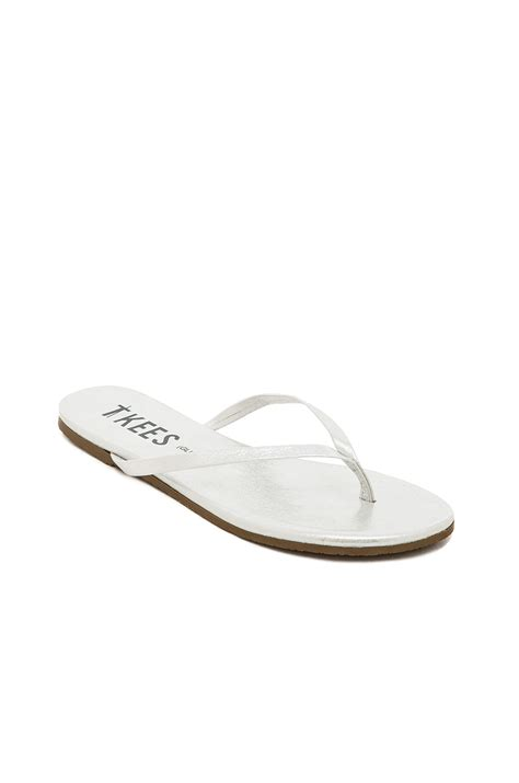 tkees sandals tkees sandal in white lyst