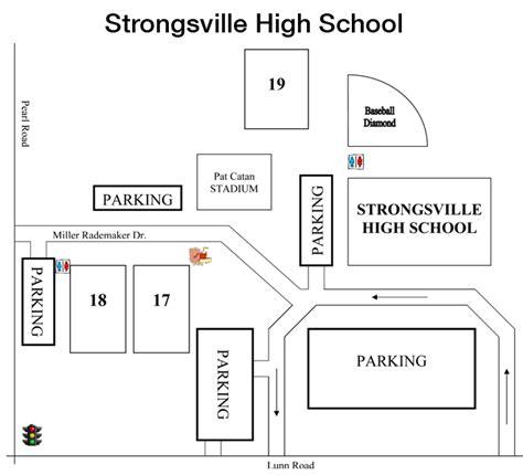 school diagram strongsville high school adidas national soccer showcase