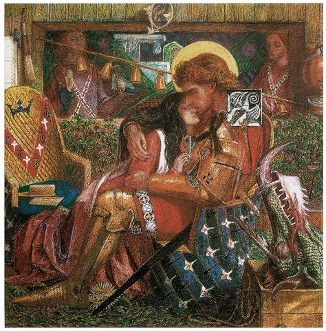 the way back the paintings of george a weymouth a brandywine valley visionary books the wedding of st george and princess sabra painting by