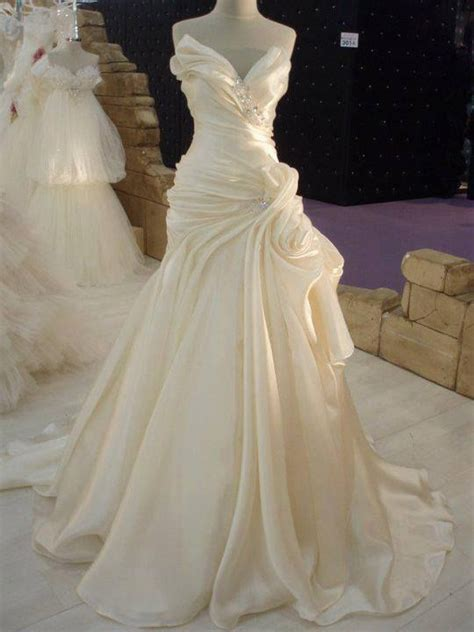 My Wedding Ideas by Satin Wedding Dress My Wedding Ideas 2374632
