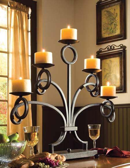 candelabro fierro candelabros de herrer 237 a para adorno de mesa metales