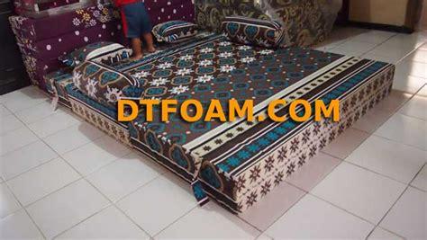 Sofabed Busa Inoac Uk 200x160x20 sofa bed inoac batik cake dtfoam