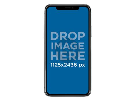 Transparent Iphone X placeit iphone x mockup against transparent background