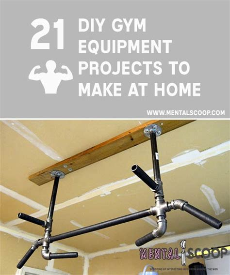 do it yourself equipment 21 fitness projects you can