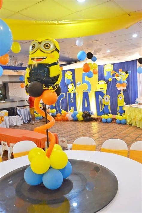 Minions Decoration by 49 Best Images About Jaja S 5th Bday Ideas On