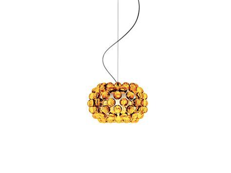 Buy The Foscarini Caboche Suspension Light Gold At Nest Co Uk