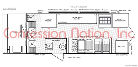 food truck floor plans floorplans food trucks fast food truck mobile kitchens