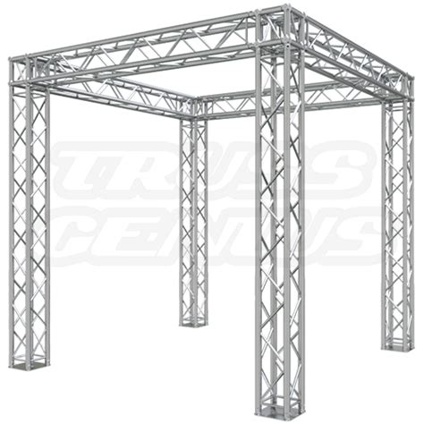 aluminium sling booth 10 x 10 truss trade show booth build 4 in 1 modular