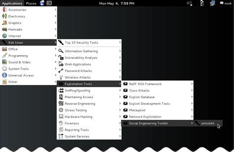 kali linux set toolkit tutorial social engineering toolkit in kali linux social account