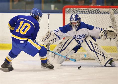 section 1 ice hockey section iii boys ice hockey roundup ben gravel s goal