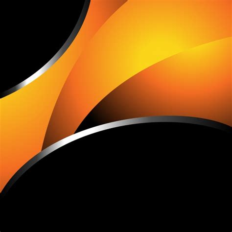 orange black design orange and black background design vector free