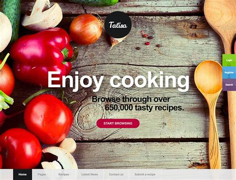 Kitchen Design Competition 30 best food wordpress themes for sharing recipes 2016