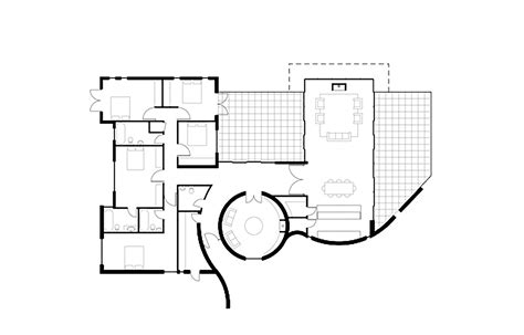 philip johnson glass house floor plan philip johnson glass house plans and sections escortsea