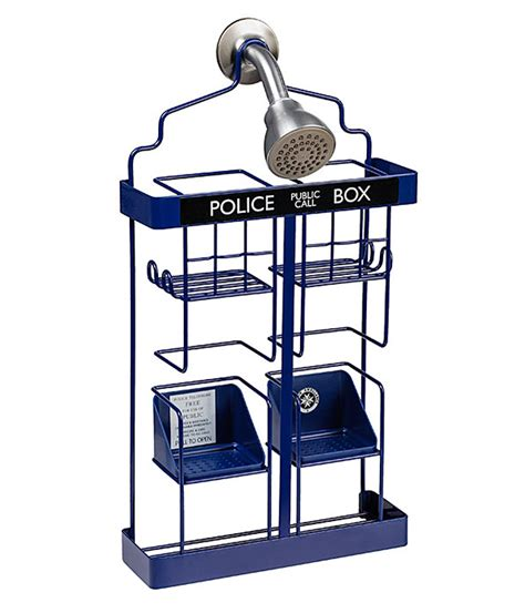 Rack Doctor by Doctor Who Tardis Shower Rack