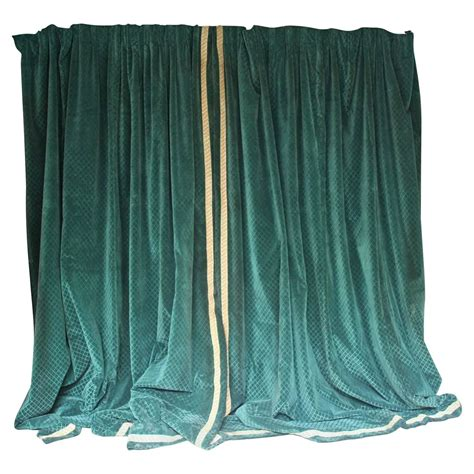 velvet drapes sale elegant large pair of french velvet drapes for sale at 1stdibs