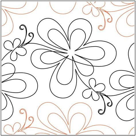 1000 images about pantograph and digital quilting designs