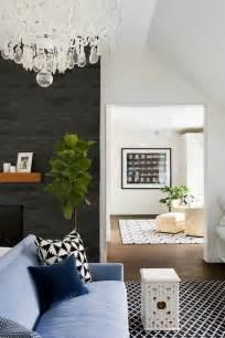 black brick fireplace surround design ideas
