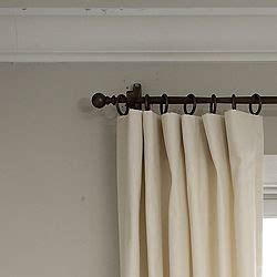 flat curtain panels how to hide clips when putting rings on flat panel curtains