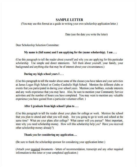 High School Application Letter Template 35 Application Letter Sles Free Premium Templates