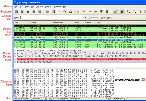 wireshark tutorial screenshots wireshark frontend