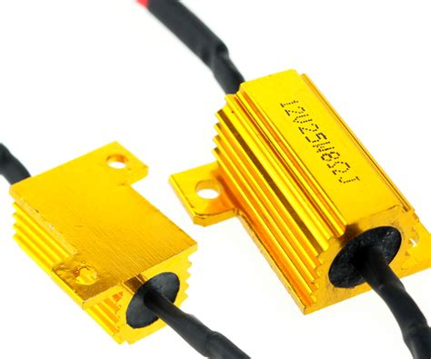 12v ballast resistor 2 x motorcycle bike led indicator relay load resistor 12v 25w bulbs ballast ebay