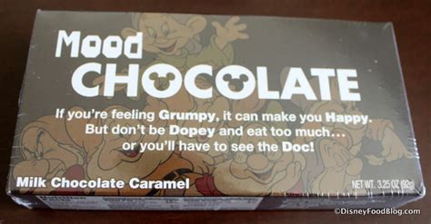 chocolate and mood swings spotted new candy boxes at walt disney world and
