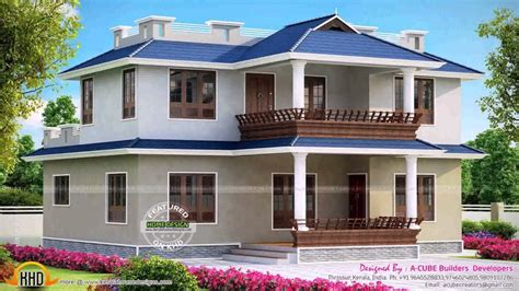 3 bedroom house plans in kerala model