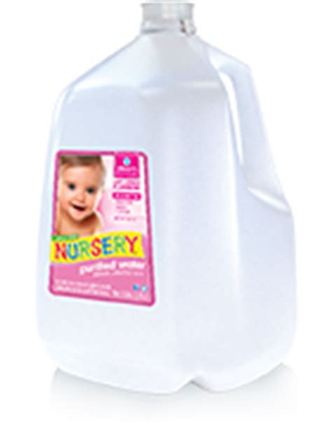 Nursery Water With Or Without Fluoride by Bottled Water Delivery Service Nursery Water