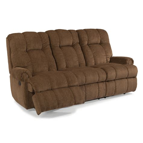 flexsteel 4830 62 hercules fabric reclining sofa discount