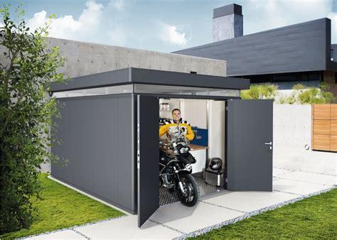 motorad garage gartenhaus modernes design holz ziller