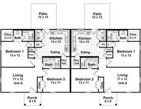 Small duplex house floor plans manca info