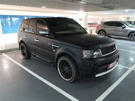 matte black range rover matte black range rover autobiography sport youtube