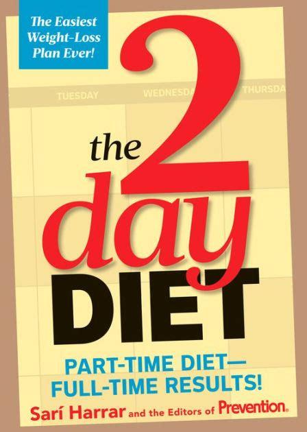 day diet part time diet full time results  sari harrar  editors  prevention