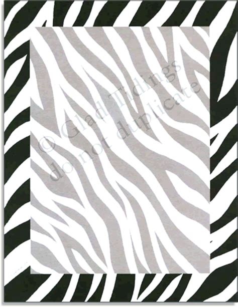 printable jungle paper quick view gl214 quot zebra skin paper quot