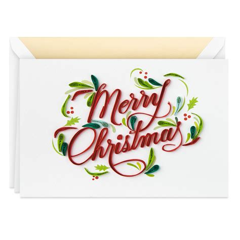 merry christmas frameable art christmas card greeting cards hallmark