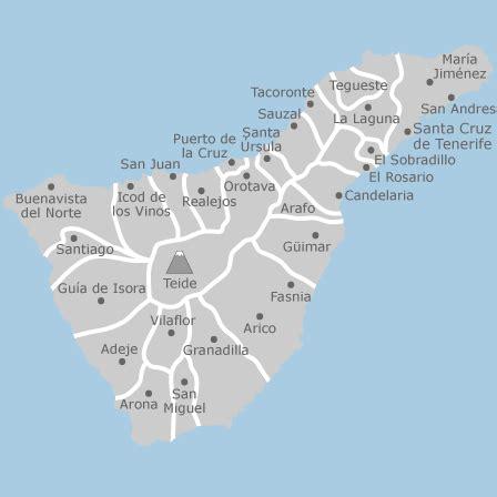 mapa de tenerife santa cruz de tenerife idealista