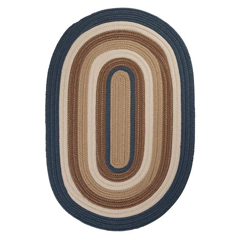 10 x 10 area rugs home decorators collection frontier 10 ft x 10 ft blue braided area rug bn59r120x120