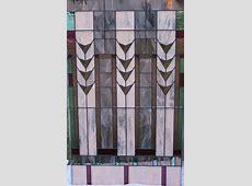 Phoenix-ArtGlass - Landscape Glass Tapestry  14x14 ... Cabinet Doors