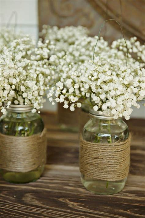 ways  incorporate mason jars   wedding