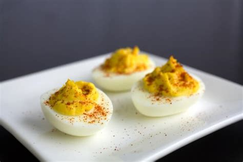 Egg Food Cd classic deviled eggs recipe cdkitchen