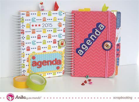 agenda paso a paso agenda alterada mediante scrapbooking en 11 pasos
