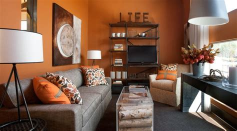sherwin williams gingery 6363 paint orange colors and family rooms