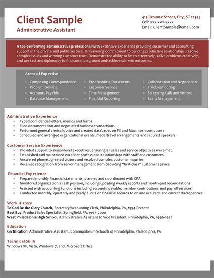 confidential resume sle