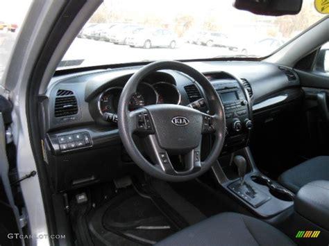 Kia Sorento 2011 Interior Black Interior 2011 Kia Sorento Lx Awd Photo 77449919