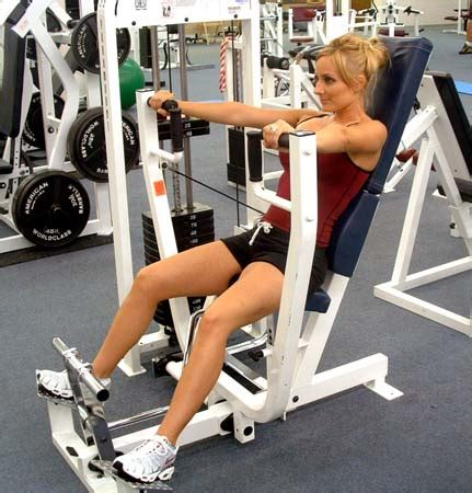 machine flat bench press what is the best all machine workout