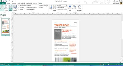 Microsoft Publisher Report Templates