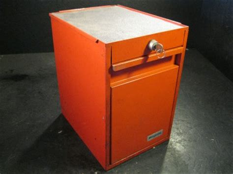 tool box side cabinet snap on used snap on side cabinet locker tool box 5 drawers red