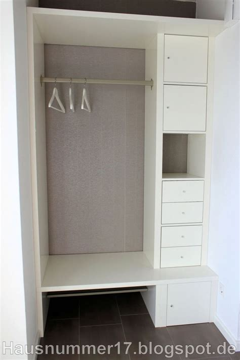 Ideen Kleiner Flur Ikea by 25 Best Ideas About Garderobe Selber Bauen On